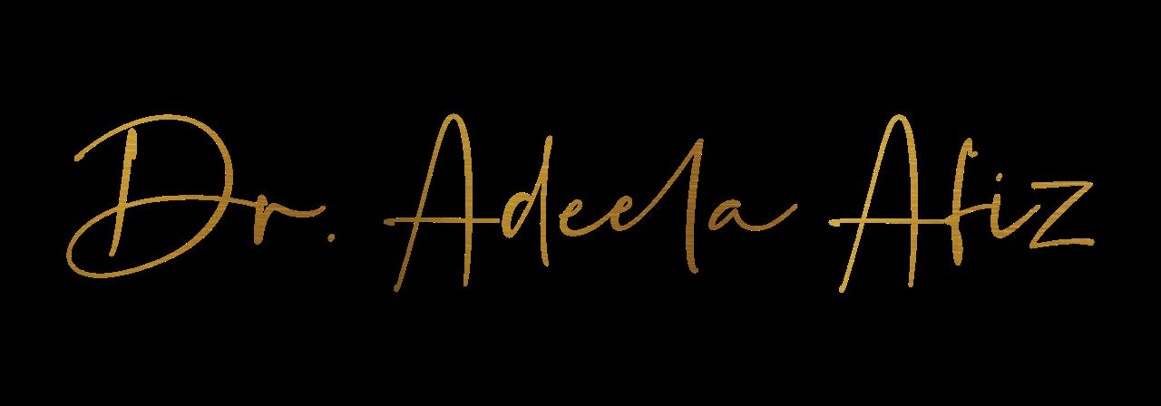 Dr Adeela Afiz